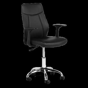Офис стол 6045 - черен