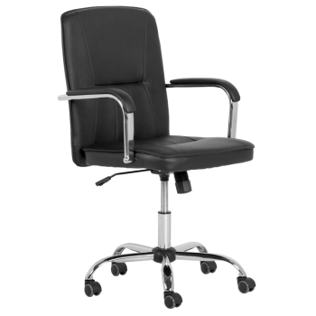 Работен офис стол 6173 - черен
